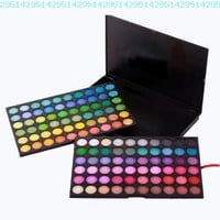 FASH Professional Bold, Bright and Vivid 120 Color Eyeshadow Palette Makeup Cosmetics:Amazon:Beauty