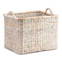 Medium Natural Weave Storage Basket - Storage & Organization - T.J.Maxx