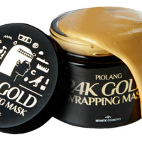 Korean Piolang 24K Gold Wrapping Mask Dilute Redness Balance the Face Color - 80ml