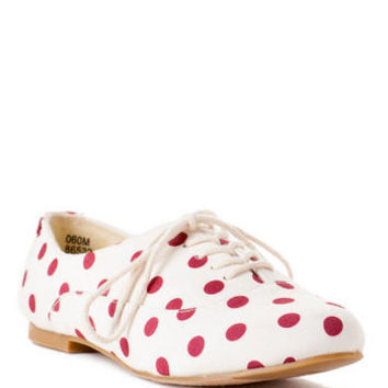 Jun & Ivy Shoes, Lucy Oxford Flat
