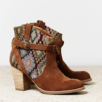 AEO Contrast Strap Bootie | American Eagle Outfitters