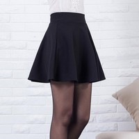 High Waist Pleated Skirt Vintage skirts