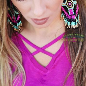 The Vegas Earrings by Crazy Train