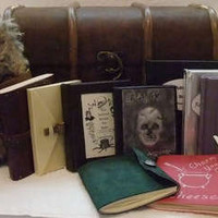 Harry Potter Trunk and Books