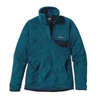 Patagonia Women's Re-Tool Snap-T® Fleece Pullover | Underwater Blue - Crater Blue X-Dye
