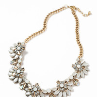 Reagan Crystal Statement Necklace