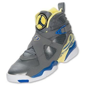 Girls' Grade School Air Jordan Retro 8 Basketball Shoes