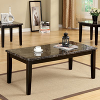 Cm4211-3Pk Coffee Table With 2 End Tables 3Pc.Set  Fremont Collection
