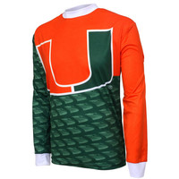 Miami Hurricanes NCAA Mountain Bike Jersey (X-Large)