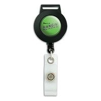 How's It Hangin' Casual Hello Greeting Retractable Badge Card ID Holder