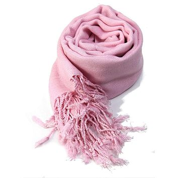 Women Ladies Neck Scarf Plain Pashmina Shawl Hijab Wrap Top Quality 100% Viscose Scarves PY2