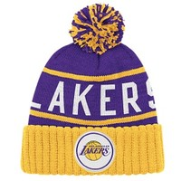 Mitchell & Ness NBA High Five Cuffed Knit Hat - Men's