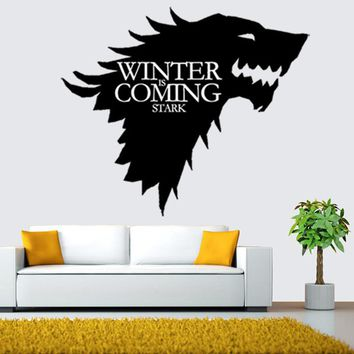 36*42cm Black Removable Wall Sticker TV Poster