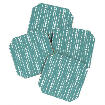 Heather Dutton Bestrewn Lagoon Coaster Set