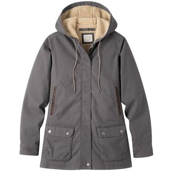 Ranch Shearling Hooded Coat - Women's