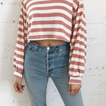 Winslow Crop Sweater Top