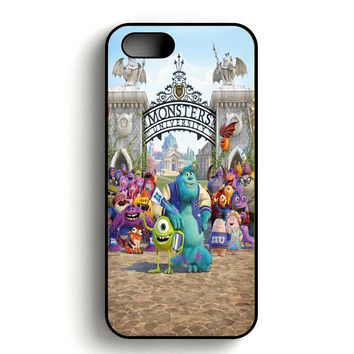 Monster Inc art iPhone 5, iPhone 5s and iPhone 5S Gold case