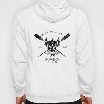 Aglionby Rowing Club (black) Hoody by Cloven
