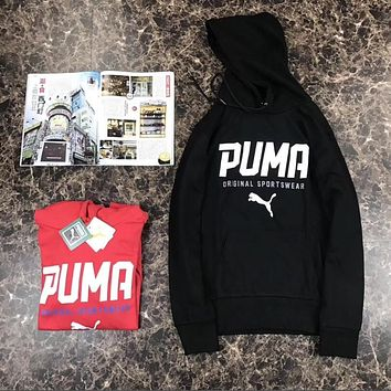 PUMA Women Men Lover Top Sweater Hoodie
