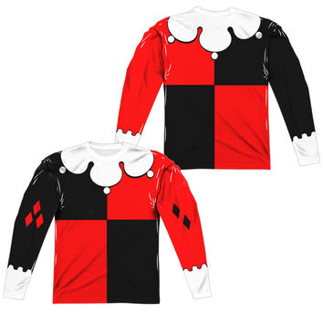 Harley Quinn Sublimated Mens Long Sleeve Costume T-Shirt
