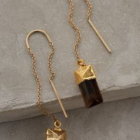 Quartz Sweeper Earrings by Heather Hawkins
