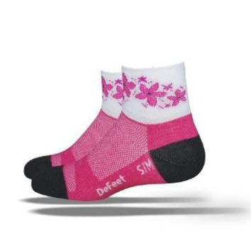 DeFeet Women's Aireator Pink Passion Socks