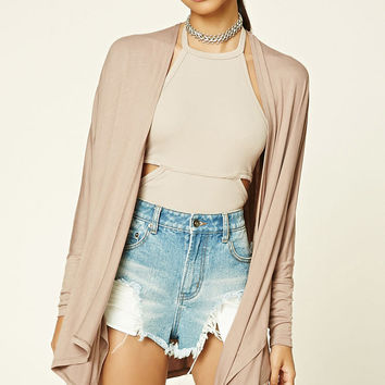 Draped Dolman Cardigan