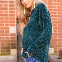 Fashion Week Chenille Shift Sweater