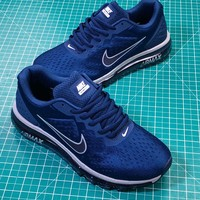 Nike Air Max 2019 Blue Sport Basketball Shoes - Best Online Sale