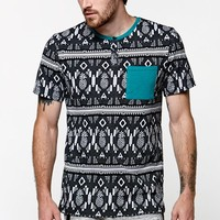On The Byas Pineapple Express Jacquard T-Shirt - Mens Tee - Black