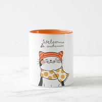 Welcome Autumn Mug