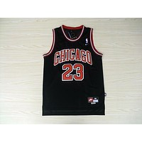 "NBA Chicago Bulls #23 Michael Jordan ""Chicago"" Swingman Jersey"