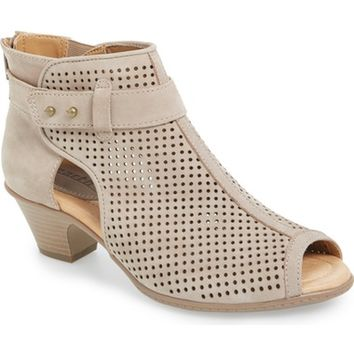 Earth® 'Intrepid' Peep Toe Bootie (Women) | Nordstrom