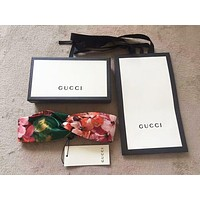 GUCCI Blooms Print Silk Headband Four Color