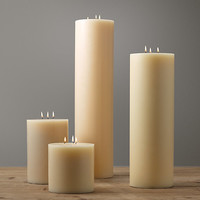 3-Wick Pillar Candles