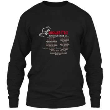 Parks and Recreation Mouse Rat Formerly Known As T-Shirt LS Ultra Cotton Tshirt