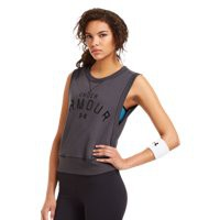 Under Armour Women's UA Pretty Gritty Word mark Vest