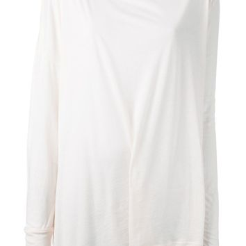 Ann Demeulemeester oversized long sleeve T-shirt