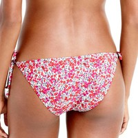 J.Crew Liberty Side Tie Bikini Bottoms | Nordstrom
