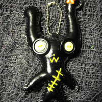 Black Creature Key Chain