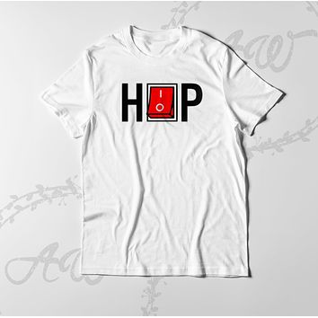 Hip Hop Tee Switch Adult Unisex T Shirt