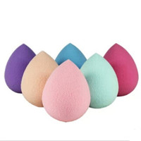 3Pieces Beauty Smooth Shaped Water Droplets Puff Makeup Sponge Blender / Super Natural Foundation / Best Beauty Tool
