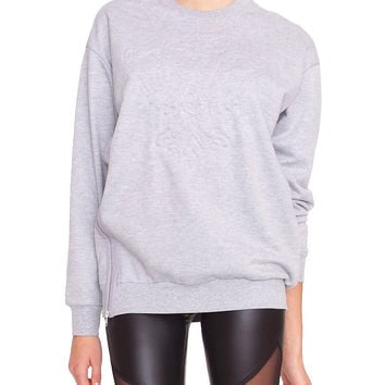 Pretty Boy Sweatshirt - Heather Gray