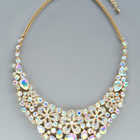 Aurora Crystal Wedding Necklace