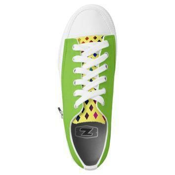 custom rainbow studded converse designer sneakers printed shoes