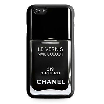 Black Chanel Nail Polish Unique Iphone 5S Cases