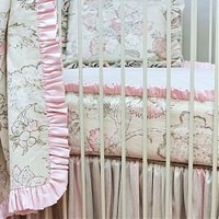 Peony 2pc. Bumperless Crib Bedding