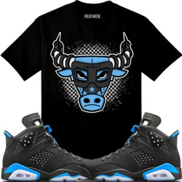 Air Jordan 6 UNC Sneaker Tees Shirt - BULLY