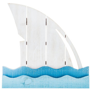 Shark Fin Wood Wall Decor | Hobby Lobby | 5822770