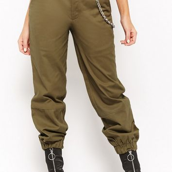 High-Rise Cargo Pants